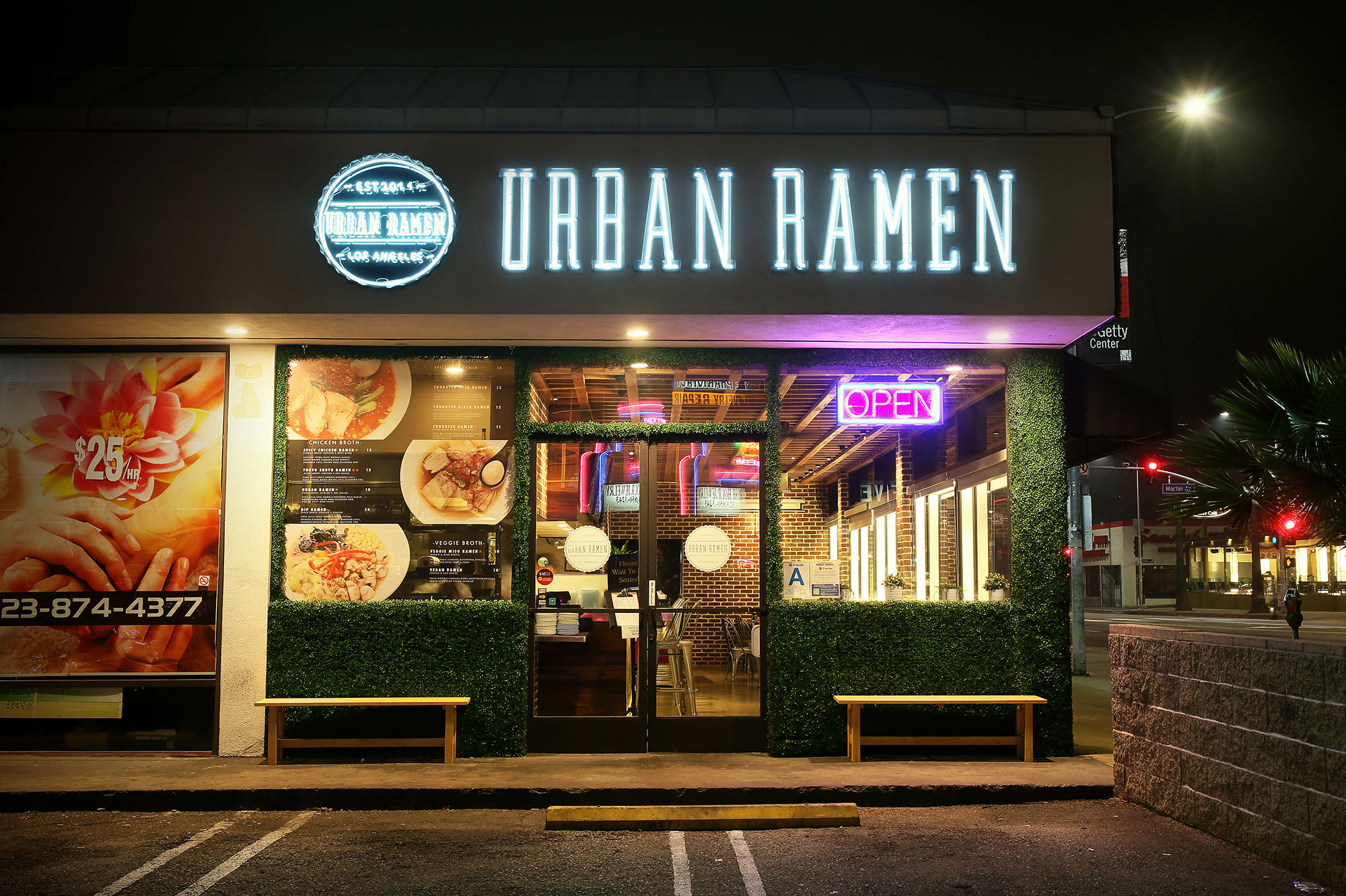 urban ramen a modern japanese ramen bar in hollywood